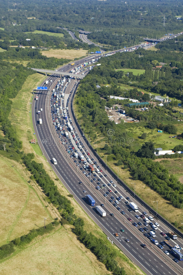 Autobahn-Ansammlung lizenzfreie stockfotografie