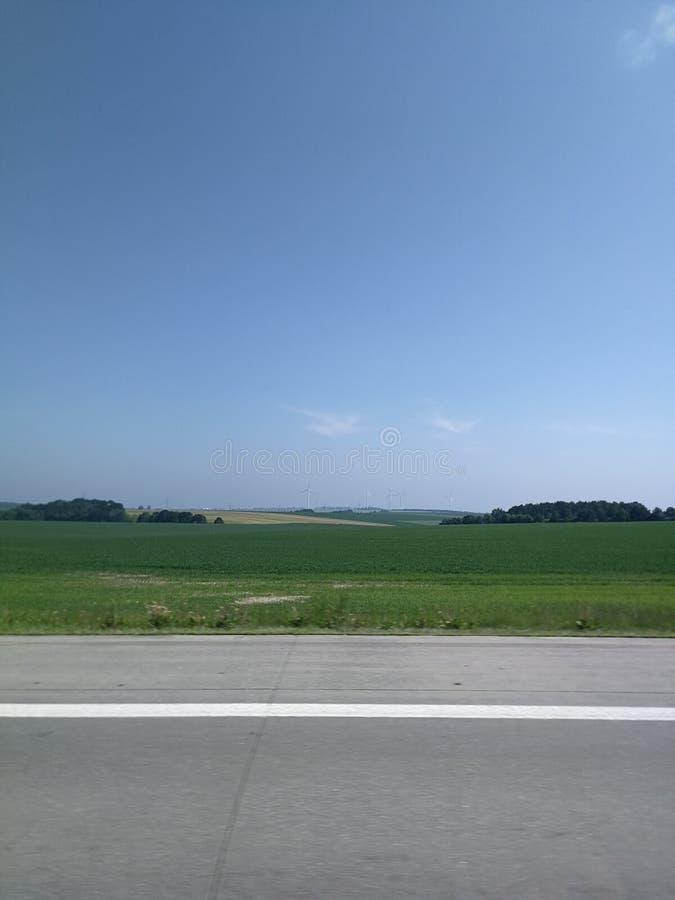 Autobahn Germany stock photos