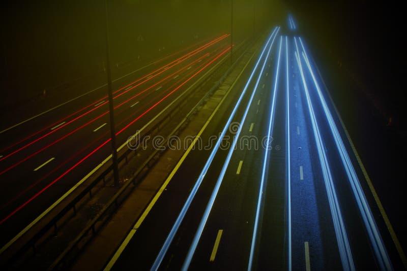 Autobahn M5 in Worcester stockfoto