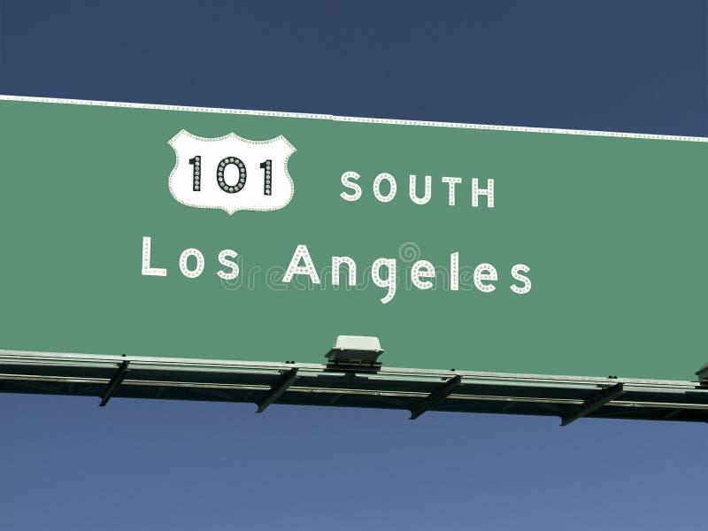 Autobahn-Zeichen Los- Angeles101 stockfotos