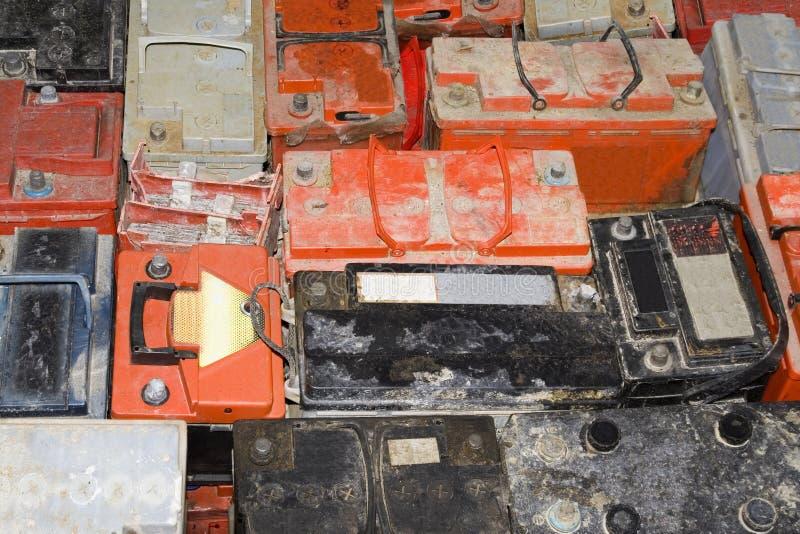 Autobatterie lizenzfreies stockfoto