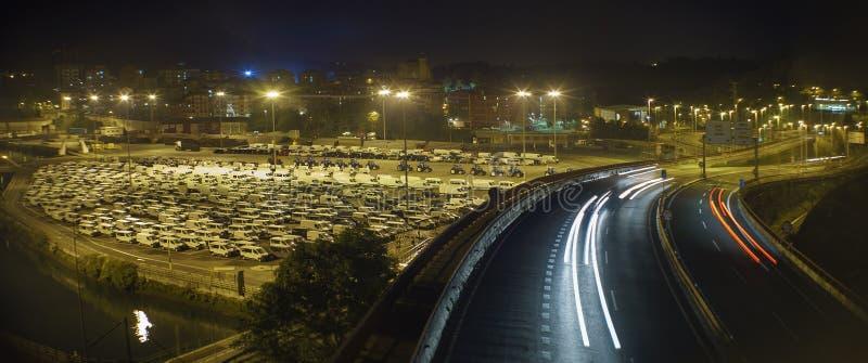 Autobevölkerung lizenzfreies stockfoto