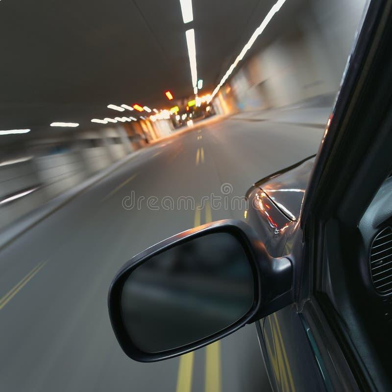 Autobewegen stockfoto