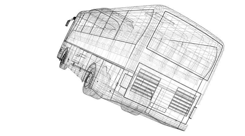 Autobus immagini stock