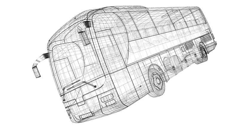 Autobus immagine stock
