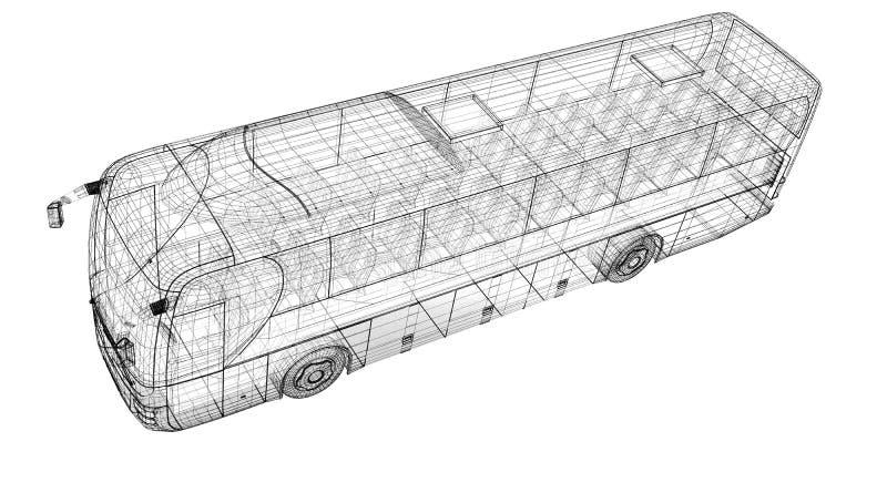 Autobus fotografie stock