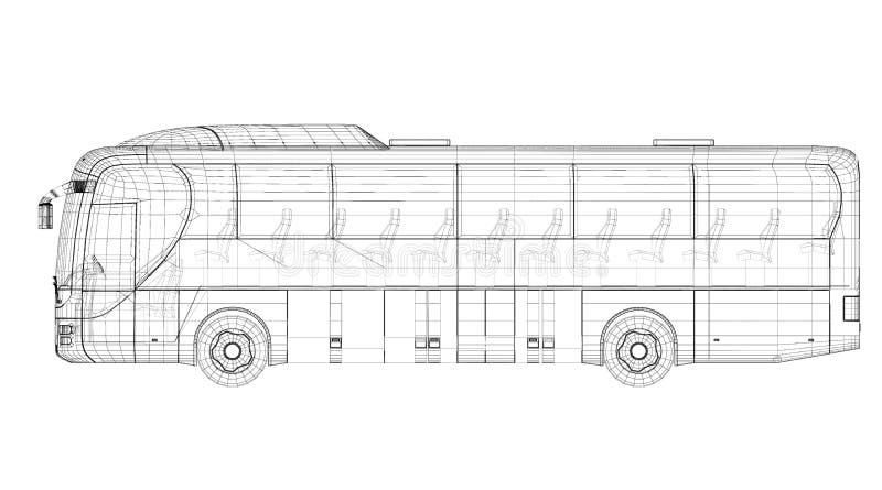 Autobus illustrazione vettoriale
