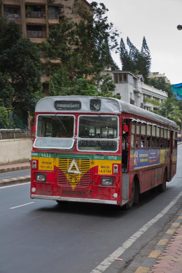 Autobus dans Mumbai image stock