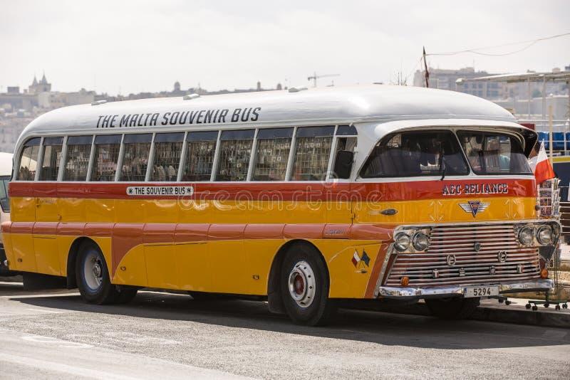 Autobus de public de Malte. images libres de droits