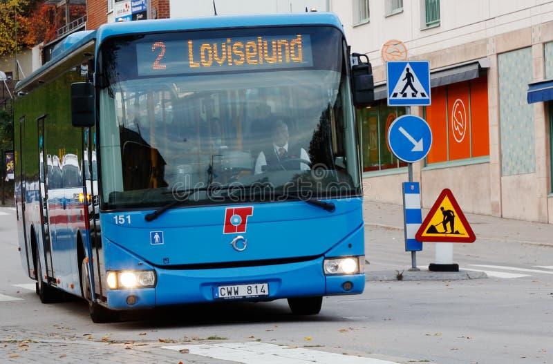 Autobus de ville de Karlskoga photographie stock
