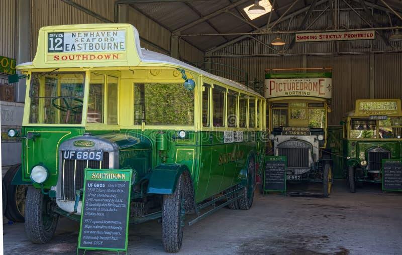 Autobus de vintage photographie stock libre de droits