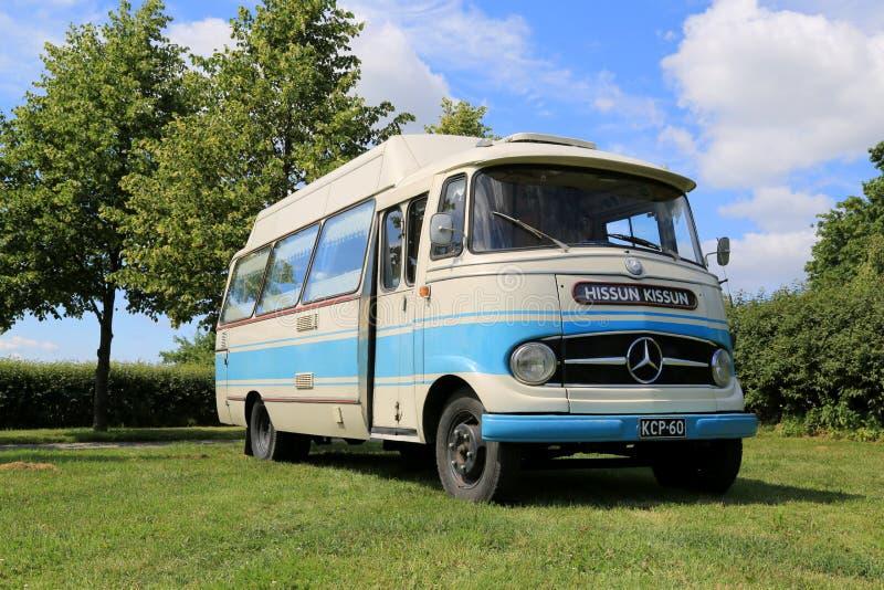 Autobus de vintage de Mercedes-Benz O 319 photographie stock