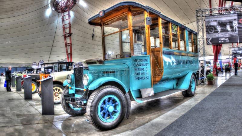 Autobus des années 1920 de vintage photos libres de droits