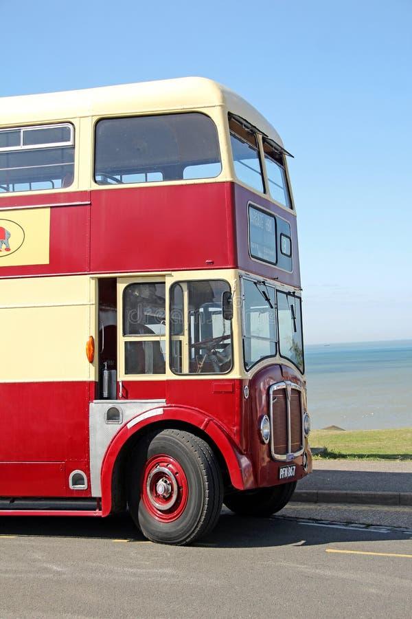 Autobus a due piani d'annata del reggente di CEA immagine stock libera da diritti