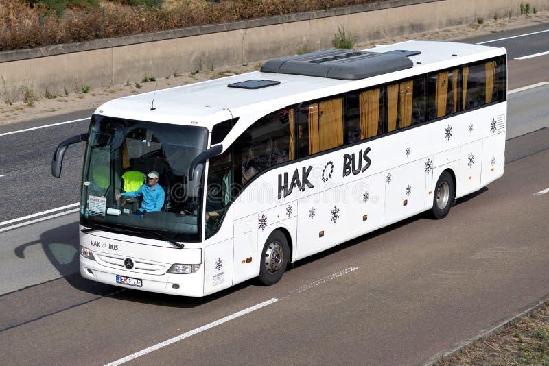 Autobus interurbain d'AUTOBUS de HAK photographie stock libre de droits