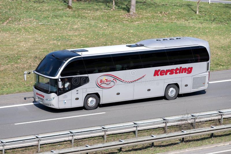 Autobus interurbain de Kersting photo stock