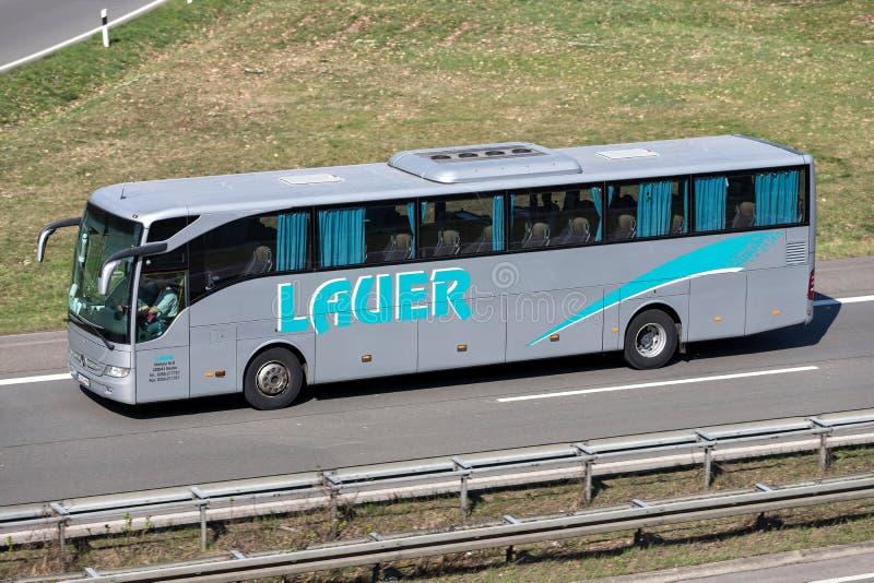 Autobus interurbain de Lauer photo stock