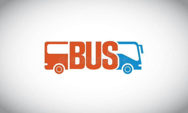 Autobus Logo Vector illustration de vecteur