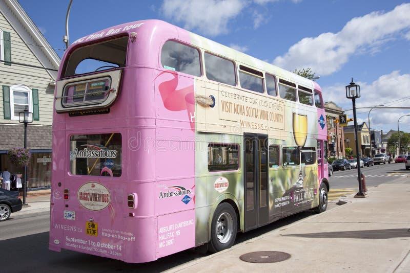 Autobus magique de vin images stock