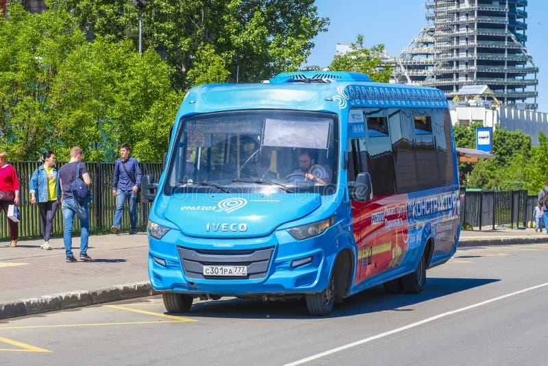 autobus na Moscow Street obraz royalty free