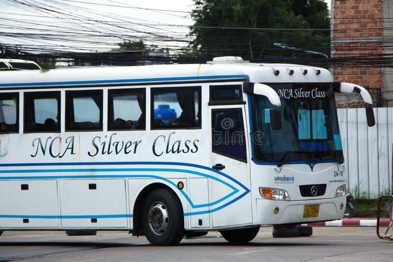 Autobus Nakhonchai powietrze Trasa Bangkok i Nakhonpanom obraz royalty free