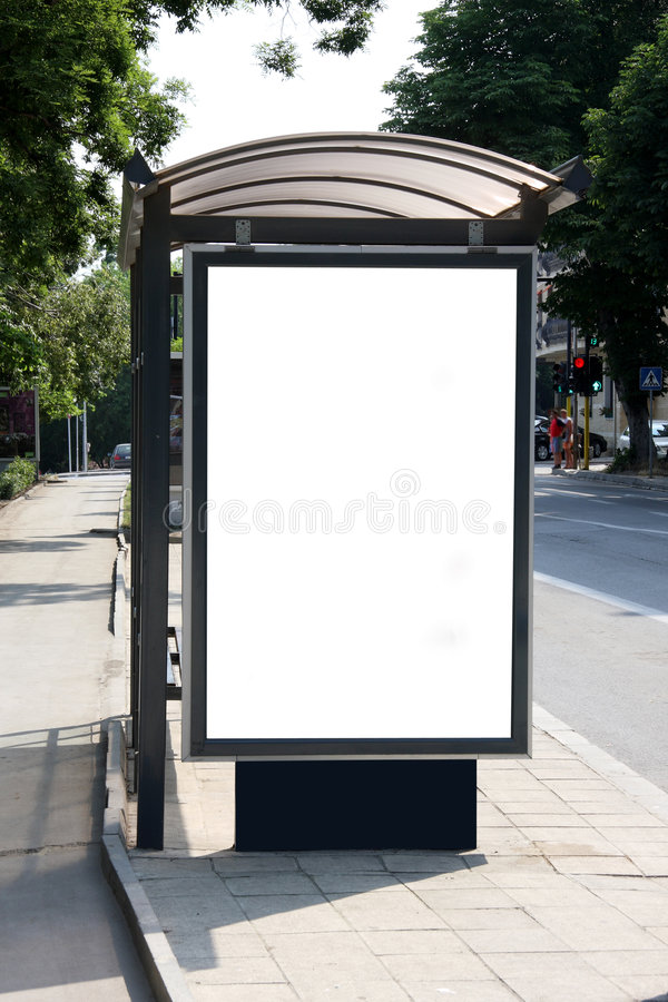 autobus schronienia obraz stock