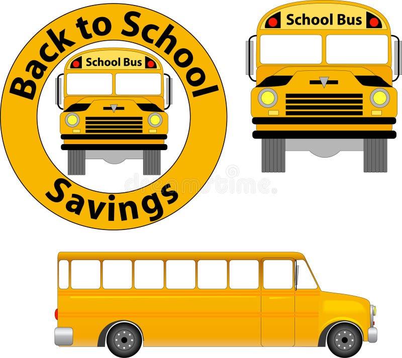 Autobus scolaire illustration de vecteur