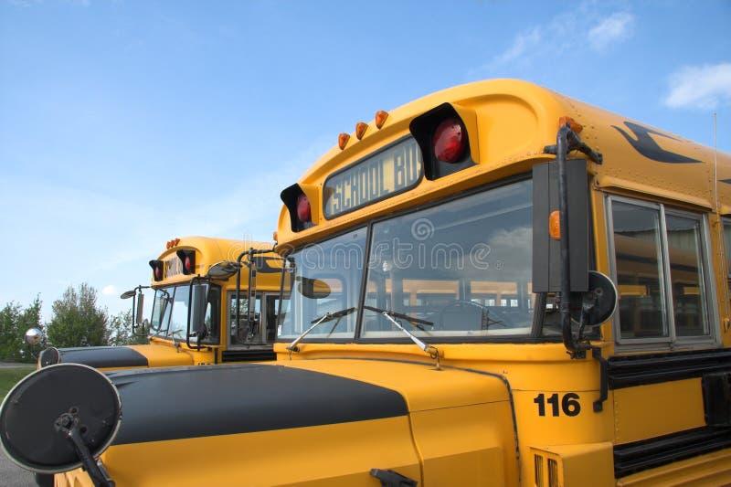 Autobus scolaires photographie stock