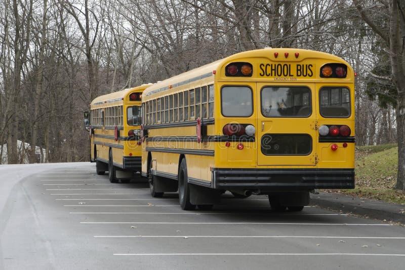 Autobus scolaires photographie stock libre de droits