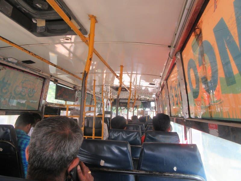 Autobus Shrirangapattana obrazy royalty free