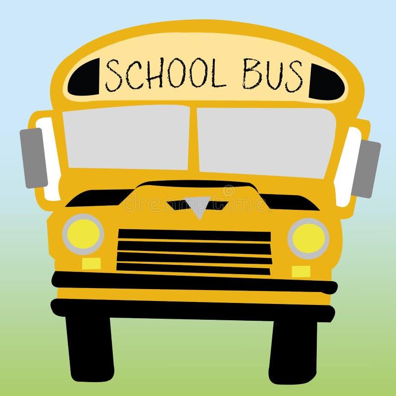 Autobus szkolny royalty ilustracja