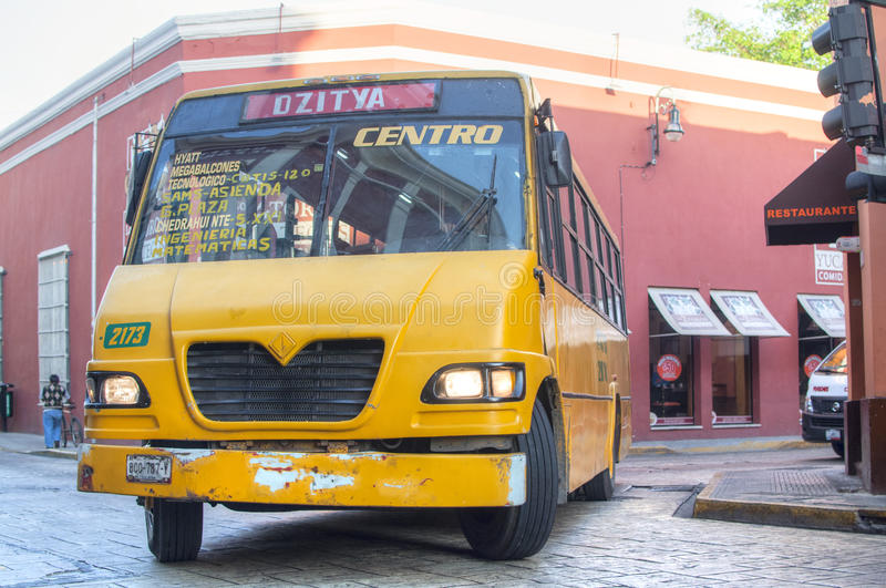 Autobus urbain mexicain photo stock