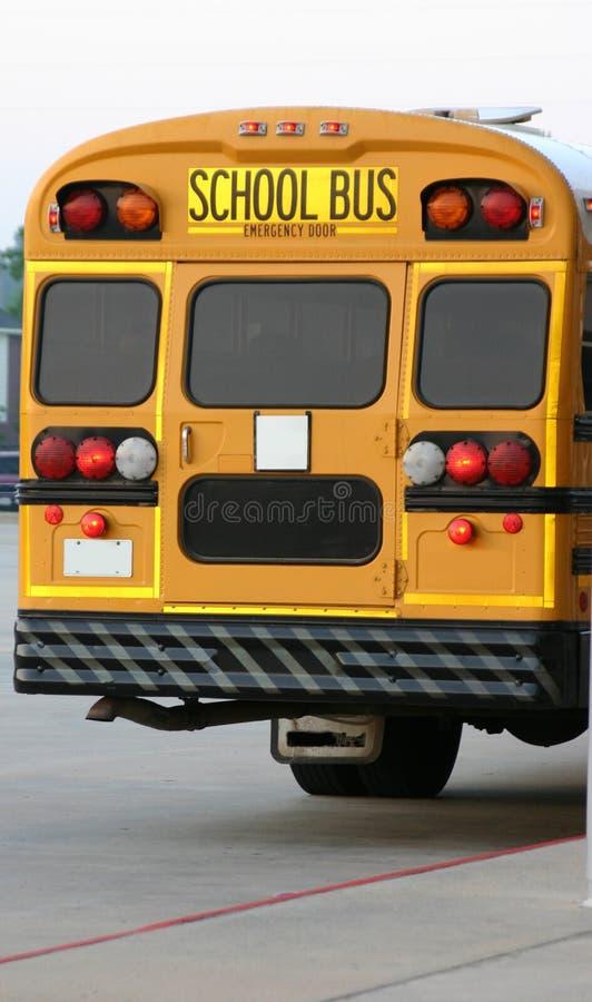 Download Autobus wrócił obraz stock. Obraz złożonej z yellow, taillights - 125303