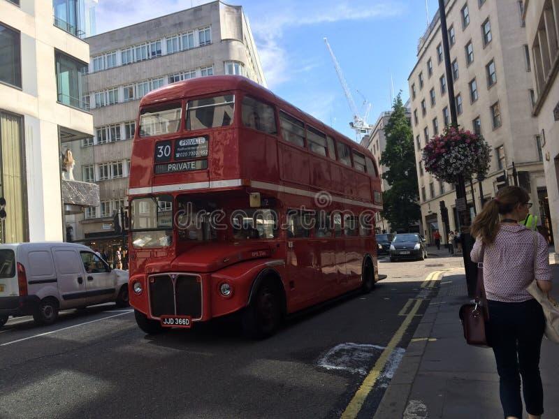 Autobuses de Londres imagenes de archivo