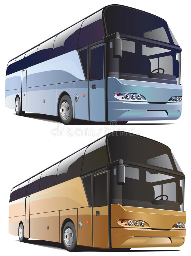 autobusowa ampuła ilustracja wektor