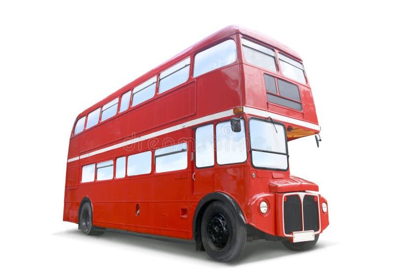 autobusowa czerwień zdjęcia royalty free