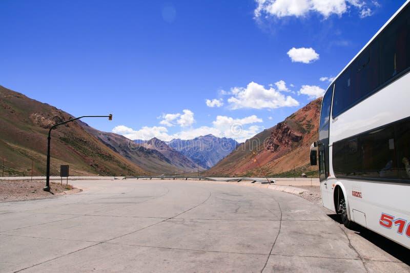 autobusowa droga fotografia stock