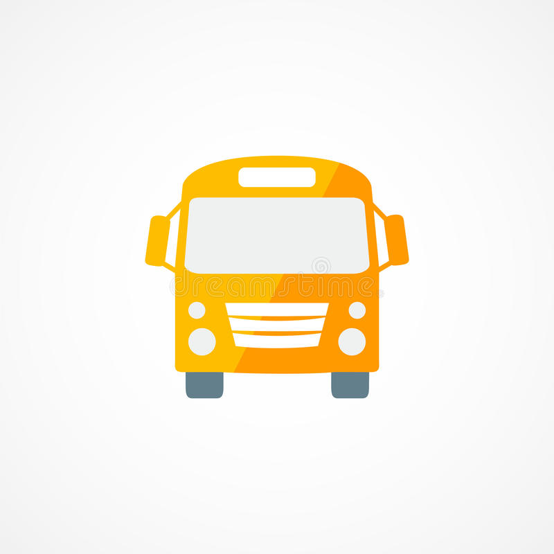 Autobusowa ikona royalty ilustracja
