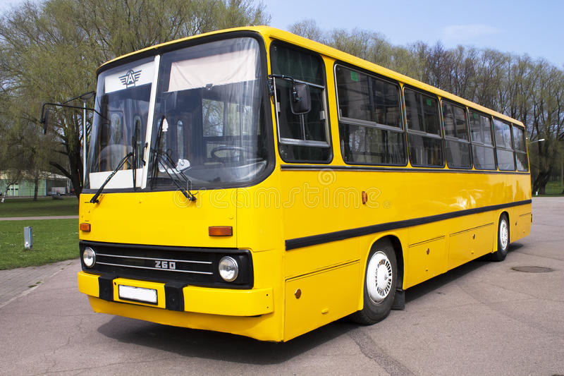 Autobusowy Ikarus zdjęcie stock