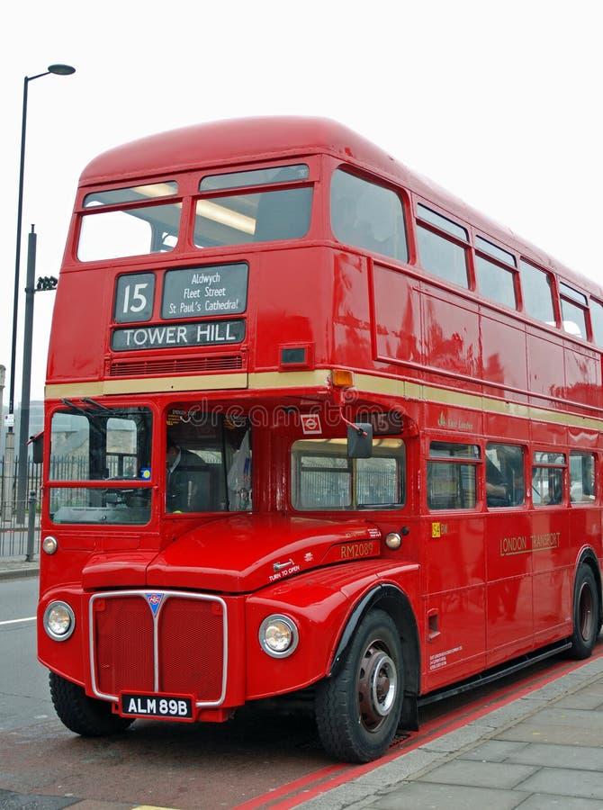 autobusowy klasyczny London zdjęcia stock