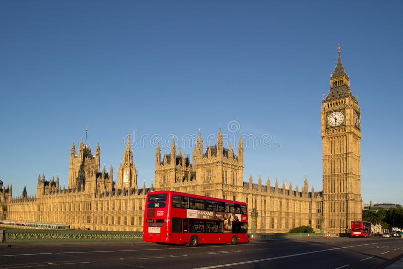 autobusowy London fotografia stock