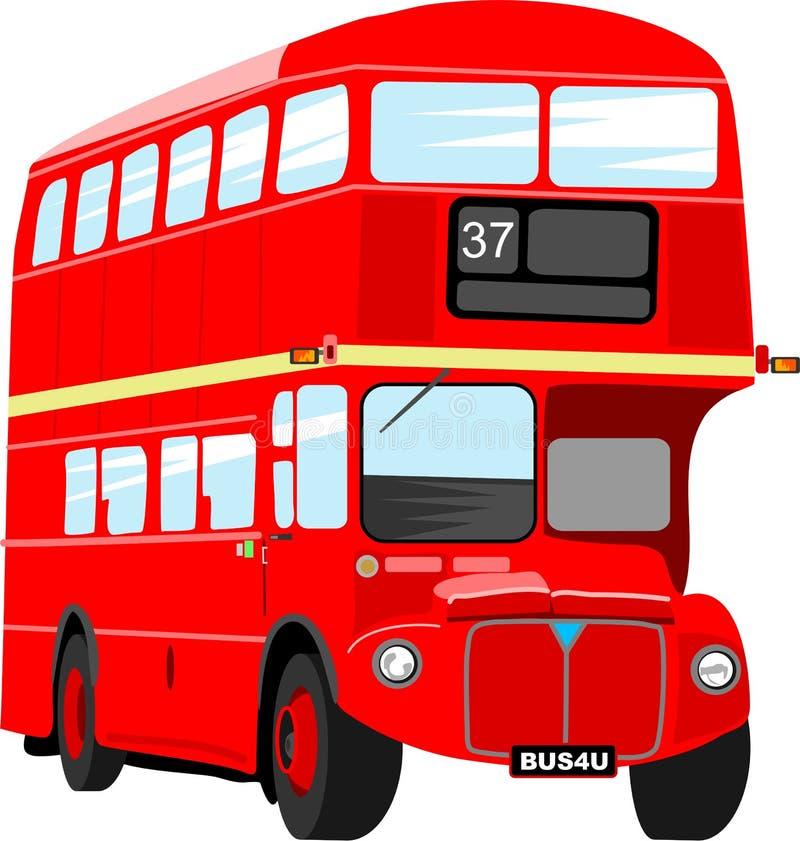 autobusowy London royalty ilustracja