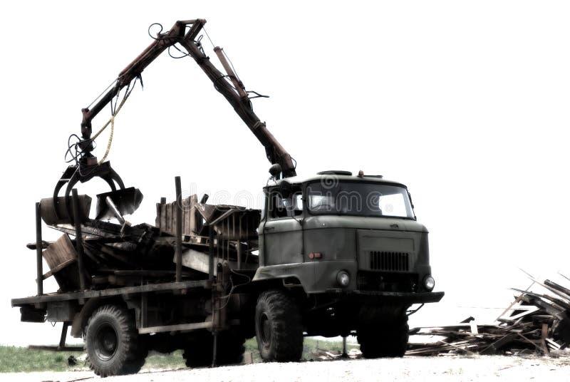 Autocarro con cassone ribaltabile pesante. immagini stock libere da diritti