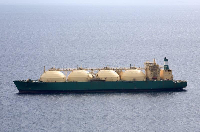 Autocisterna di LNG fotografie stock libere da diritti