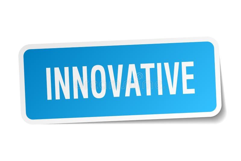 autocollant carré innovateur illustration libre de droits
