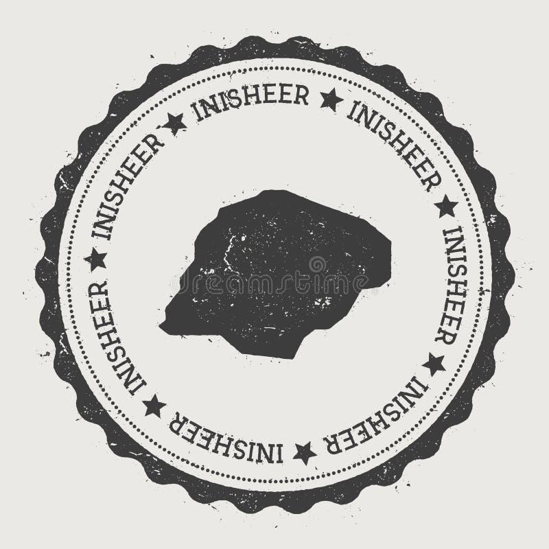 Autocollant d'Inisheer illustration de vecteur