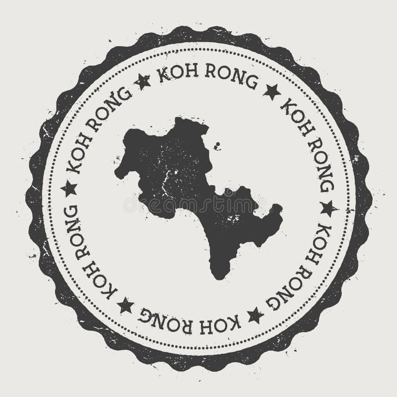 Autocollant de Koh Rong illustration libre de droits