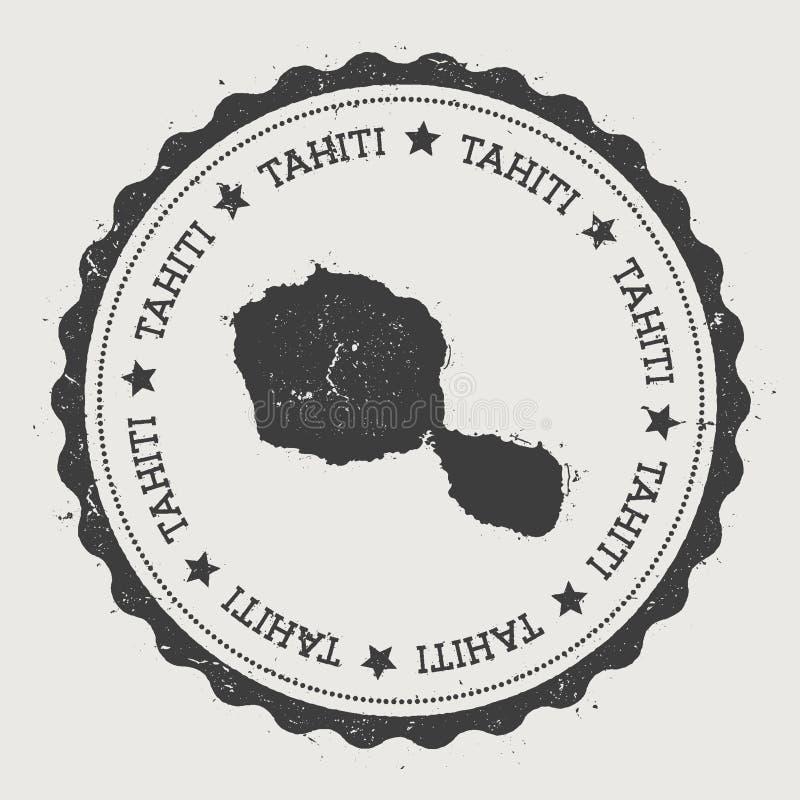 Autocollant du Tahiti illustration libre de droits