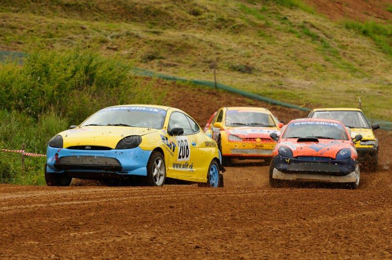 autocross стоковое изображение