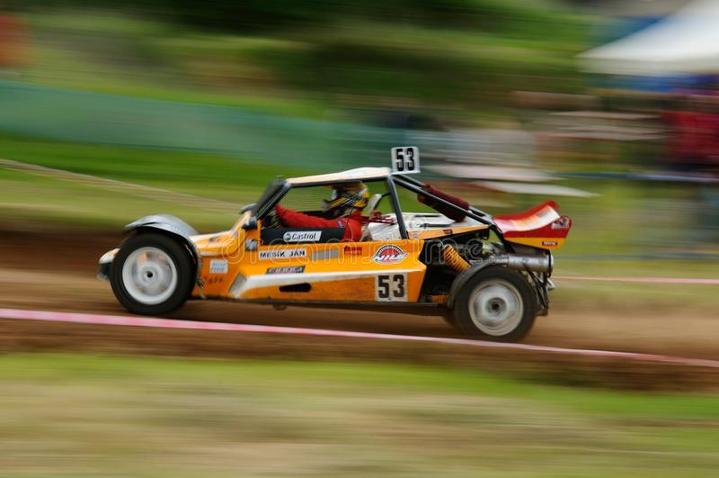 autocross fotos de stock